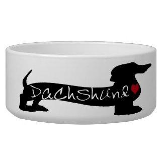 Dachshund Dog Dish