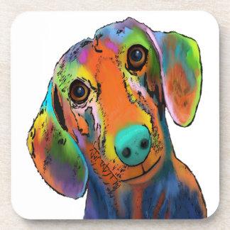 Dachshund Dog Drink Coaster