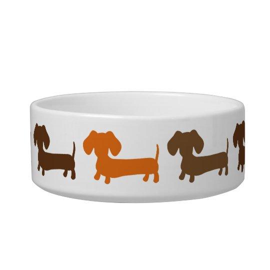 Dachshund Dog Bowl Goldenacresdogs Com