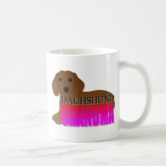 Dachshund Dog Grandma Coffee Mug