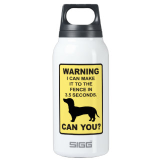 Dachshund Dog Humorous  Doxon funny saying Insulated Water Bottle