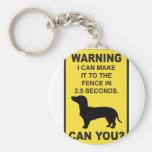 Dachshund Dog Humorous  Doxon funny saying Key Chain