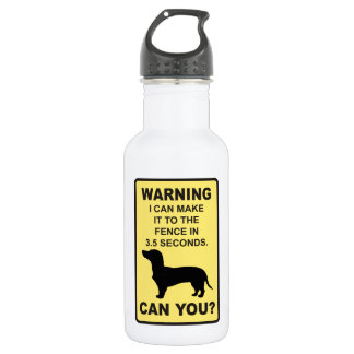 Dachshund Dog Humorous  Doxon funny saying Stainless Steel Water Bottle