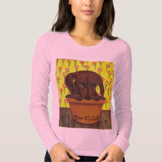 Dachshund Dog is Too Cute! Shirt
