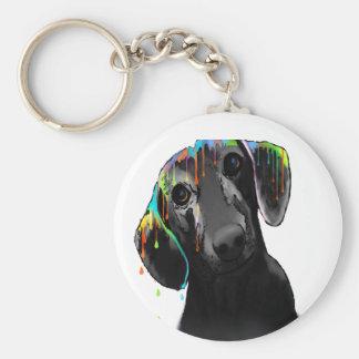Dachshund Dog Keychain