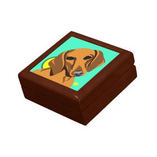 Dachshund Dog Lover Gifts Keepsake Box