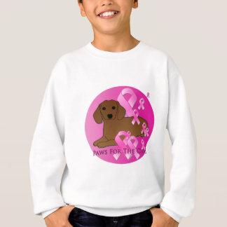 Dachshund Dog Pink Ribbon Sweatshirt
