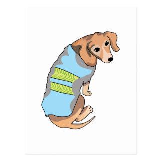 DACHSHUND DOG POSTCARD