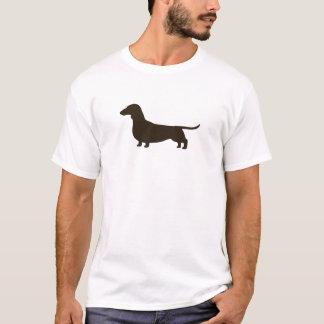 Dachshund Dog Silhouette T-Shirt