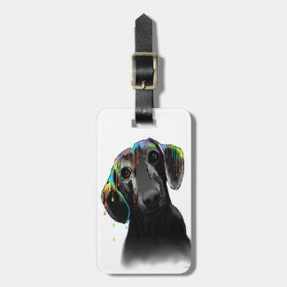 Dachshund Dog Tag For Luggage