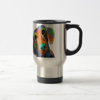 Dachshund Dog Travel Mug