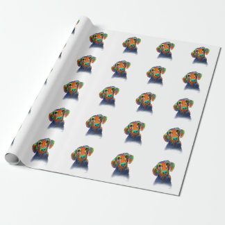Dachshund Dog Wrapping Paper