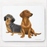 Dachshund Dogs Mousepad