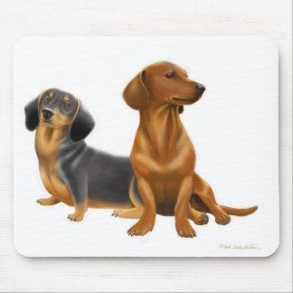 Dachshund Dogs Mousepad