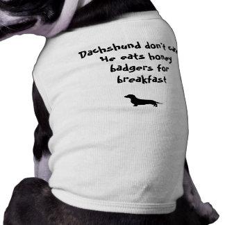 Dachshund Don't Care T-Shirt