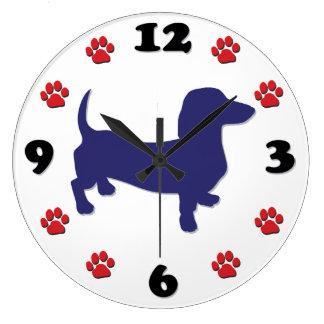 Dachshund Doxie Wall Clocks