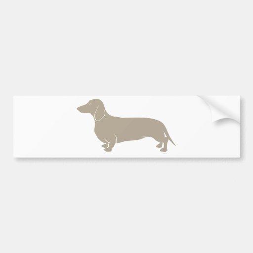 Dachshund - Doxie original artful designs Bumper Sticker