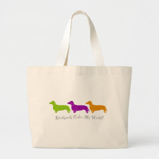 Dachshund - Doxie original artful designs Jumbo Tote Bag