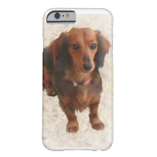 DACHSHUND DULCE FUNDA DE iPhone 6 BARELY THERE