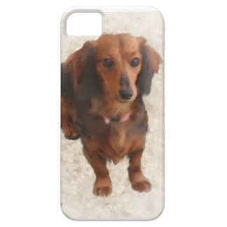 DACHSHUND DULCE iPhone 5 Case-Mate PROTECTORES