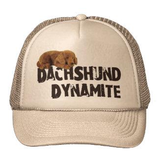Dachshund Dynamite Trucker Hat