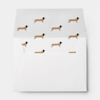 Dachshund Envelope