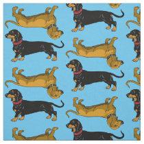 dachshund fabric