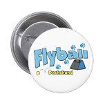 Dachshund Flyball Pin