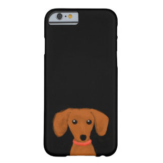 Dachshund Funda Para iPhone 6 Barely There
