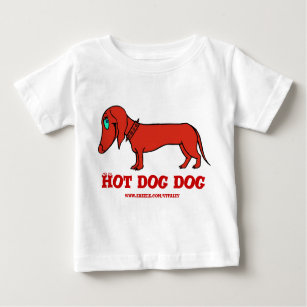 d544e439fb Sausage Dog Gifts Baby Tops & T-Shirts | Zazzle