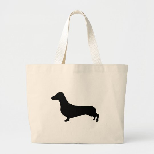 Dachshund Gear Large Tote Bag