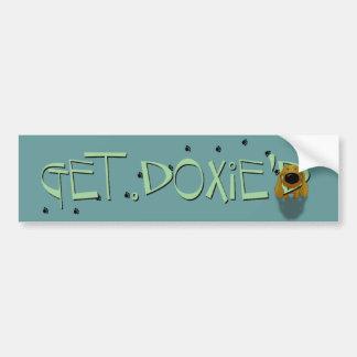 Dachshund - Get Doxie'D Bumper Sticker
