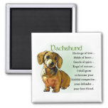 Dachshund Gifts 2 Inch Square Magnet