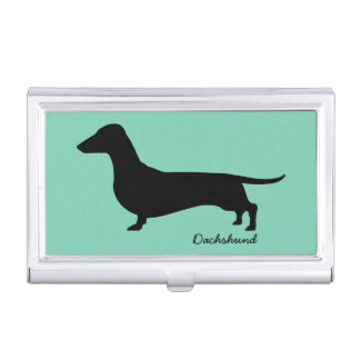 Dachshund Gifts Business Card Holder