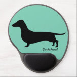 "Dachshund Gifts Gel Mouse Pad<br><div class=""desc"">Show how much you love your dachshund with this great dachshund gift.</div>"