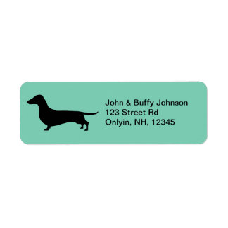 Dachshund Gifts Label