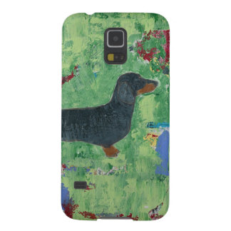 Dachshund Gifts Wiener Dog Modern Abstract Art Cases For Galaxy S5