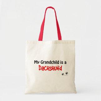 Dachshund Grandchild Budget Tote Bag