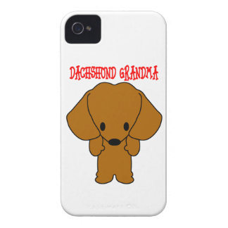 Dachshund Grandma iPhone 4 Case-Mate Case