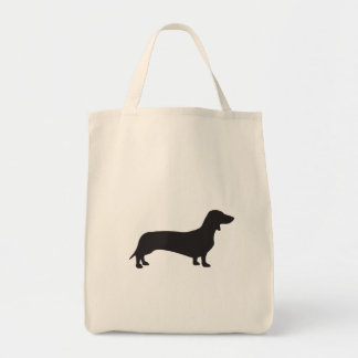 Dachshund Grocery Tote