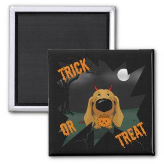 Dachshund Halloween Magnet