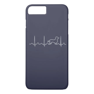 Dachshund Heartbeat iPhone 7 Plus Case