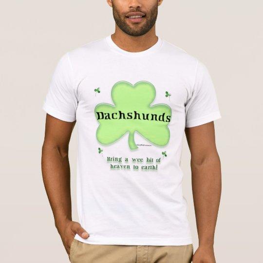Dachshund Heaven on Earth T-Shirt