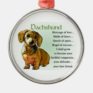 Dachshund Heritage of Love Ornaments