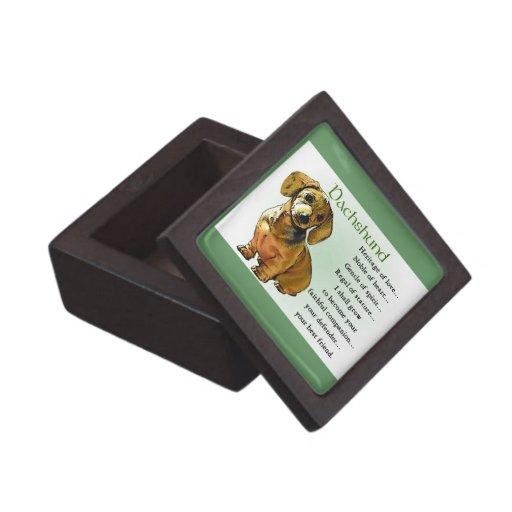 Dachshund Heritage of Love Premium Jewelry Box