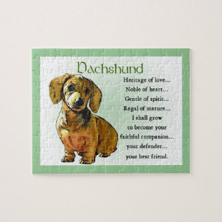 Dachshund Heritage of Love Puzzle
