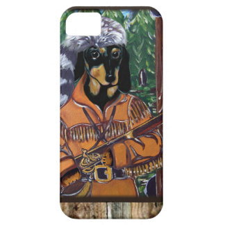 DACHSHUND HUNTER iPhone SE/5/5s CASE
