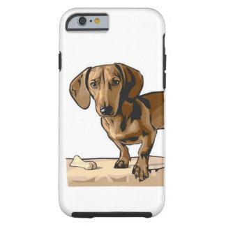 Dachshund Image Tough iPhone 6 Case
