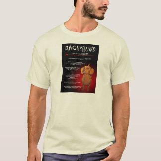 Dachshund in 3D T-Shirt