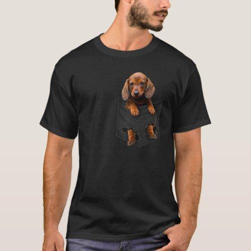 Dachshund in My Pocket T_Shirt
